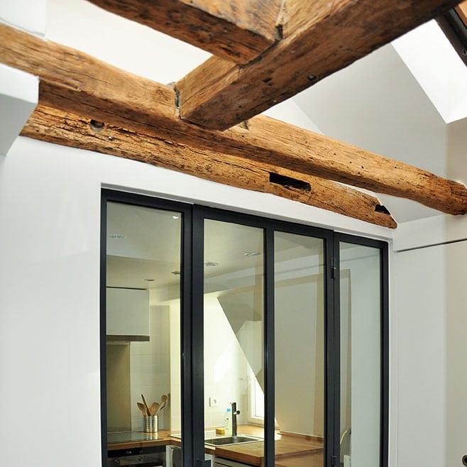 rénovation appartement place des Vosges