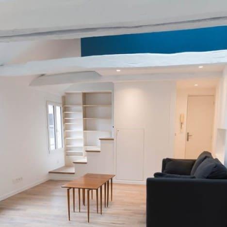rénovation complète appartement Saint-Lazare