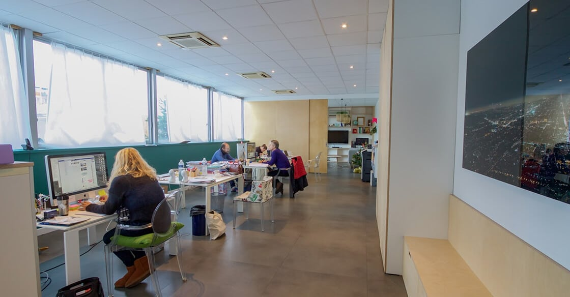 rénover des bureaux