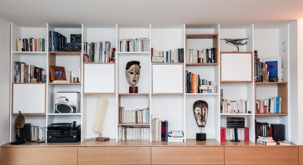 Petite surface : choisissez la bibliothèque sur mesure | INOVAS